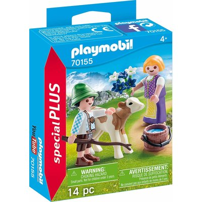 Playmobil Playmobil Special Children with Calf