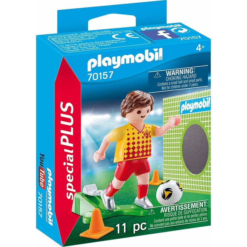 Playmobil Playmobil Special Soccer Player with Goal