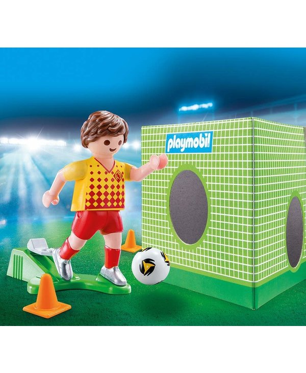 Playmobil Special Soccer Player with Goal