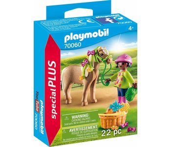 Playmobil Special Girl with Pony
