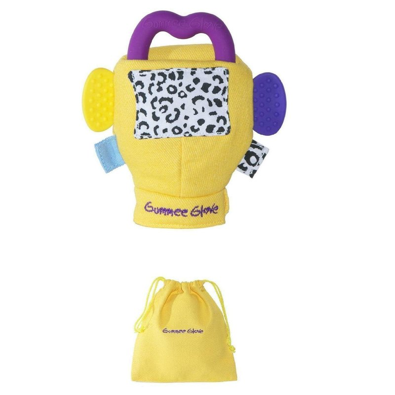 Cloud B Gummee Glove Plus 3-6Mths Yellow