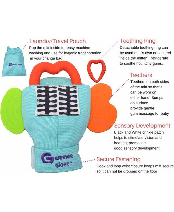 Gummee Glove Plus 3-6Mths Yellow