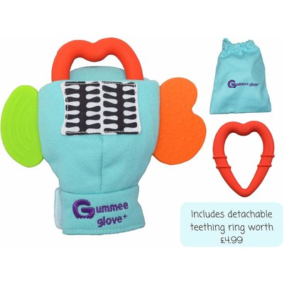 Cloud B Gummee Glove Plus 3-6Mths Turquois