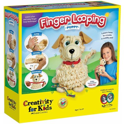 Creativity for Kids Creativity for Kids Finger Looping Puppy
