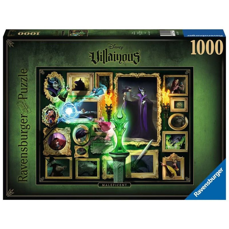 Ravensburger Ravensburger Puzzle 1000pc Villainous Maleficent