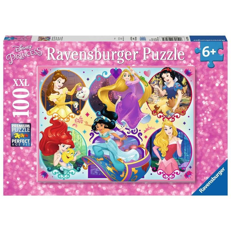 Ravensburger Ravensburger Puzzle 100pc Disney Princesses
