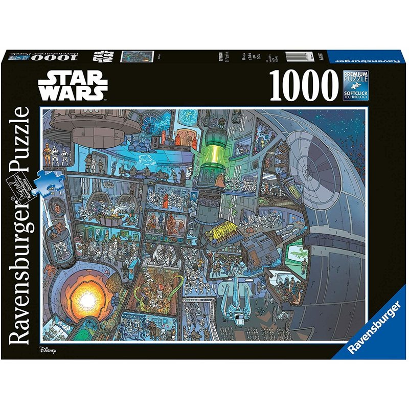 Ravensburger Ravensburger Puzzle Star Wars 1000pc Where's Wookie