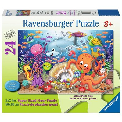 Ravensburger Ravensburger Floor Puzzle 24pc Fishie's Fortune