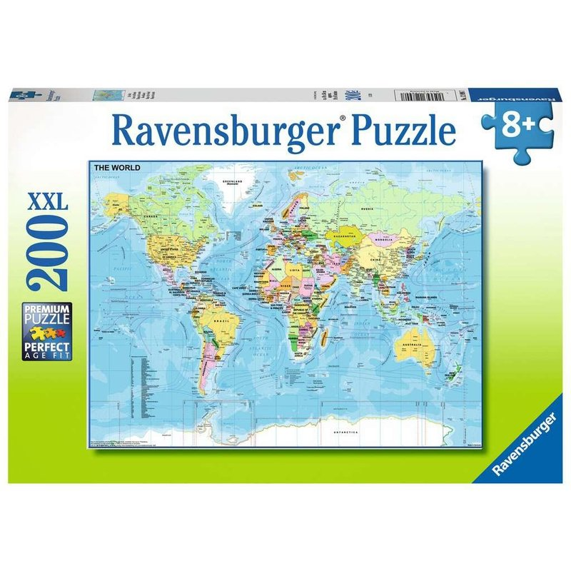 Ravensburger Ravensburger Puzzle 200pc The World
