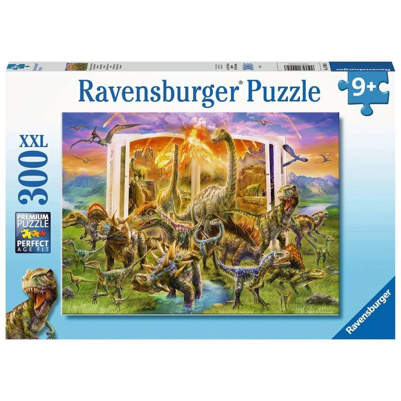 Ravensburger Ravensburger Puzzle 300pc Dino Dictionary