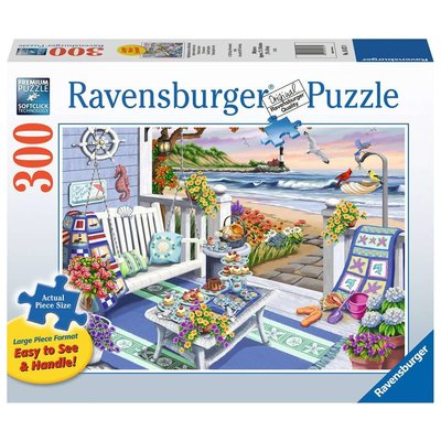 Ravensburger Ravensburger Puzzle 300pc Large Format Seaside Sunshine