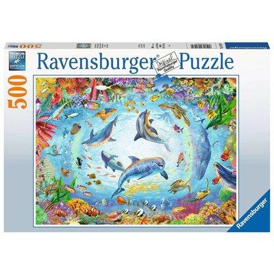 Ravensburger Ravensburger Puzzle 500pc Cave Dive