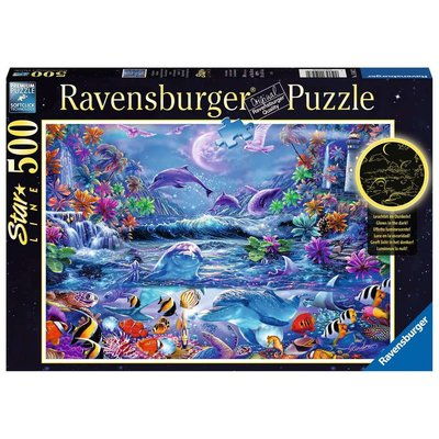 Ravensburger Ravensburger Puzzle 500pc Moonlight Magic