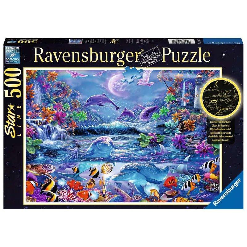 Ravensburger Ravensburger Puzzle 500pc Moonlight Magic