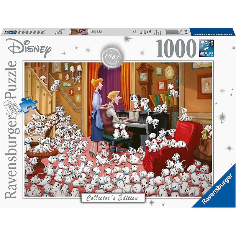 Ravensburger Ravensburger Puzzle 1000pc Disney 101 Dalmations