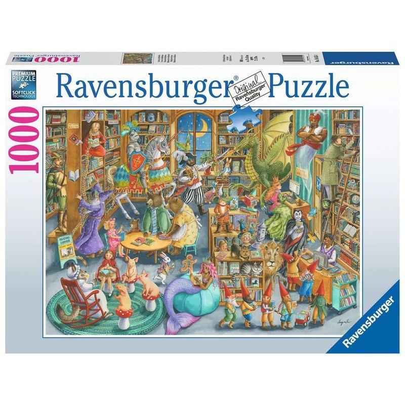 Ravensburger Ravensburger Puzzle 1000pc Midnight at the Library