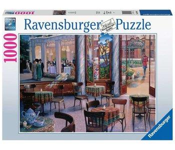 Ravensburger Puzzle 1000pc A Cafe Visit