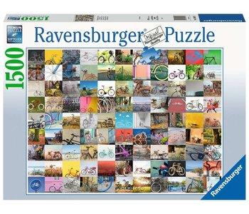 Ravensburger Puzzle 1500pc 99 Bicycles
