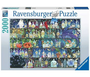 Ravensburger Puzzle 2000pc Poisons and Potions