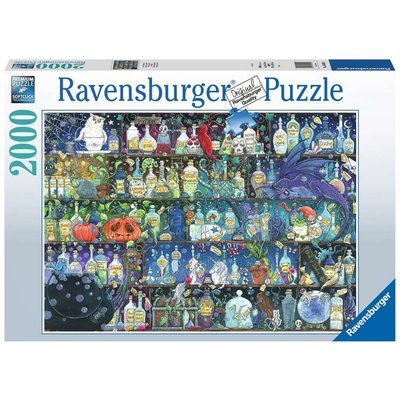 Ravensburger Ravensburger Puzzle 2000pc Poisons and Potions