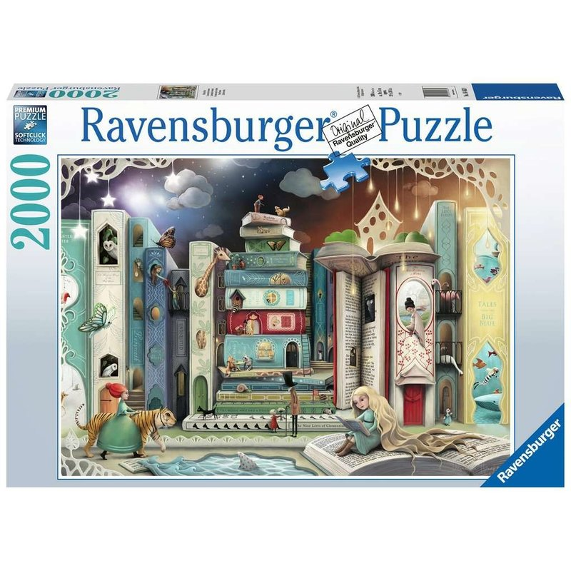 Ravensburger Ravensburger Puzzle 2000pc Novel Avenue