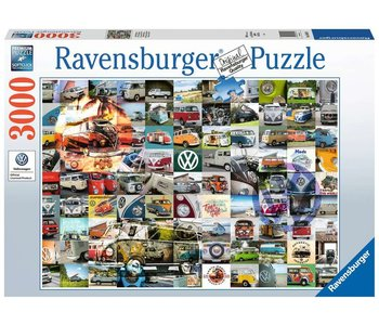 Ravensburger Puzzle 3000pc 99 VW Camper Van