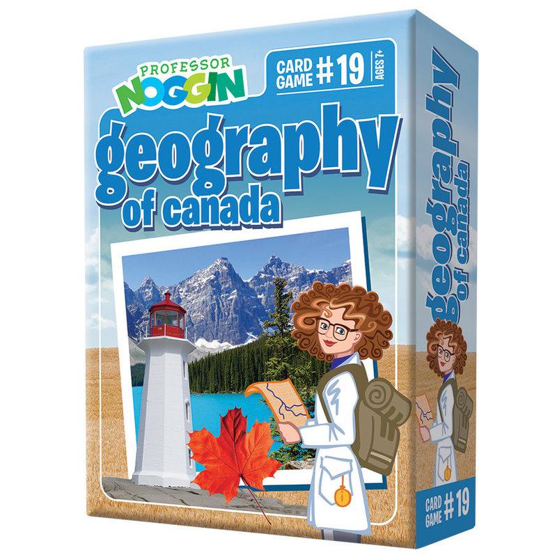 Outset Media Professor Noggin's Trivia Game: Canadian Geography