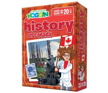 Professor Noggin's Trivia Game: Canadian History