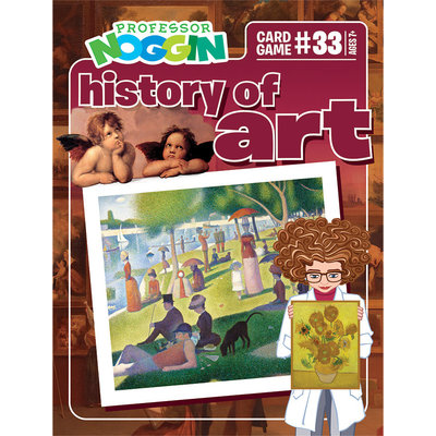 Professor Noggin's Trivia Game: History of Art