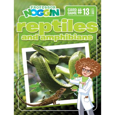 Outset Media Professor Noggin's Trivia Game: Reptiles