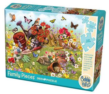 Cobble Hill Family Puzzle 350pc Garden Scene