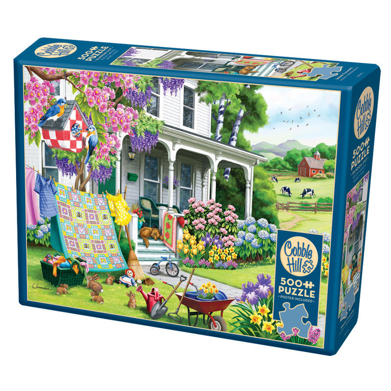 Cobble Hill Puzzles Cobble Hill Puzzle 500pc Spring Cleaning