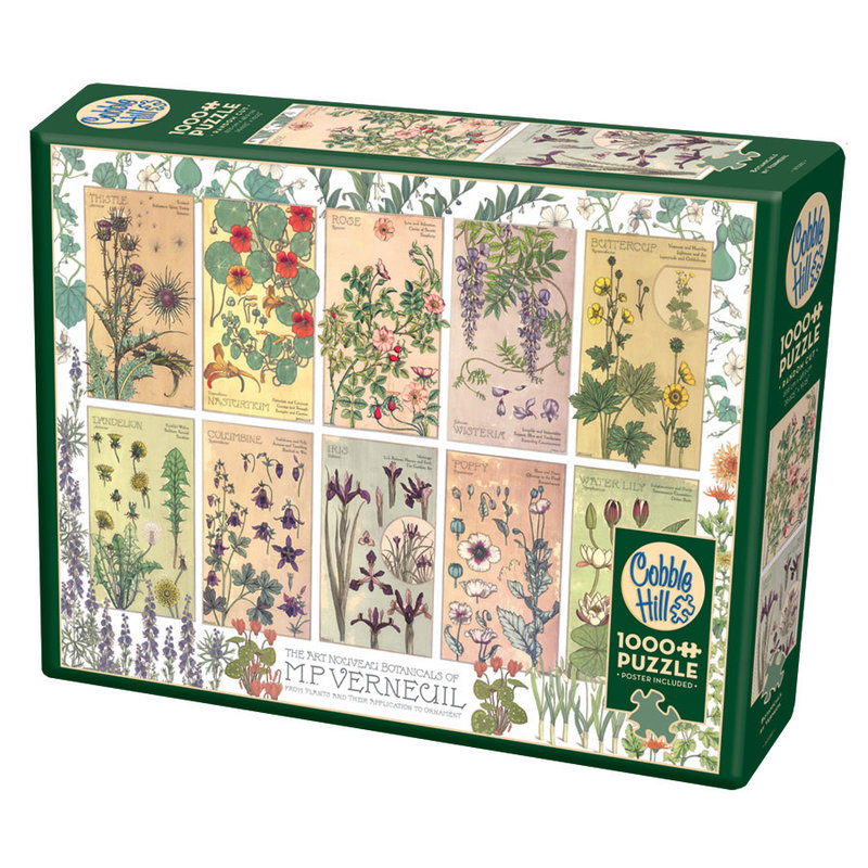 Cobble Hill Puzzles Cobble Hill Puzzle 1000pc Botanicals by Verneulli