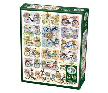 Cobble Hill Puzzle 1000pc Bicycles