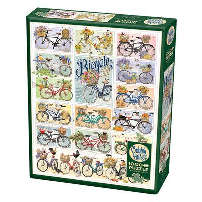 Cobble Hill Puzzles Cobble Hill Puzzle 1000pc Bicycles