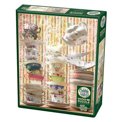 Cobble Hill Puzzles Cobble Hill Puzzle 1000pc Magic Tea Shop