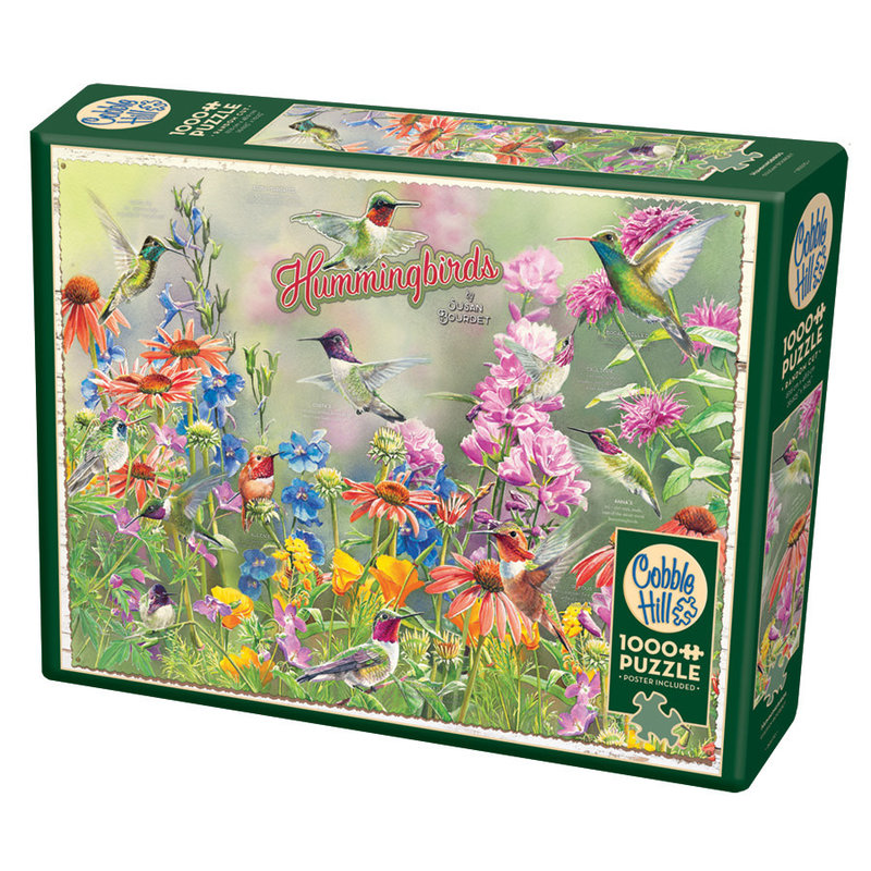 Cobble Hill Puzzles Cobble Hill Puzzle 1000pc Hummingbirds