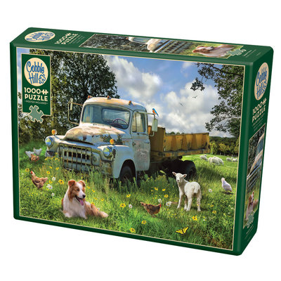 Cobble Hill Puzzles Cobble Hill Puzzle 1000pc Sheep Field