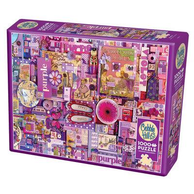 Cobble Hill Puzzles Cobble Hill Puzzle 1000pc Purple