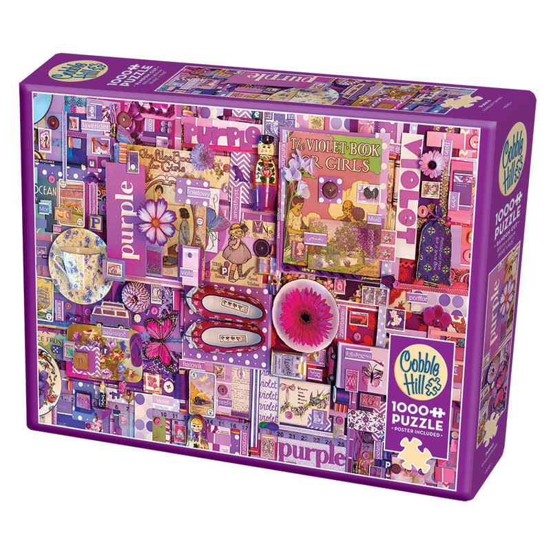 Cobble Hill Puzzles Cobble Hill Puzzle 1000pc Purple