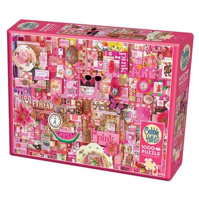 Cobble Hill Puzzles Cobble Hill Puzzle 1000pc Pink