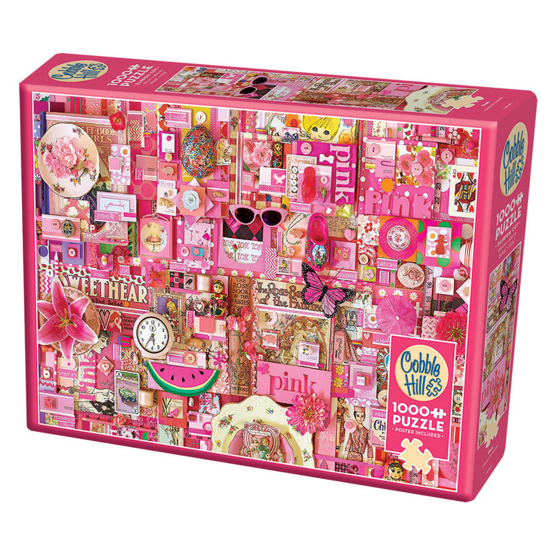 Cobble Hill Puzzles Cobble Hill Puzzle 1000pc Pink