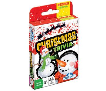 Outset Card Game Christmas Trivia