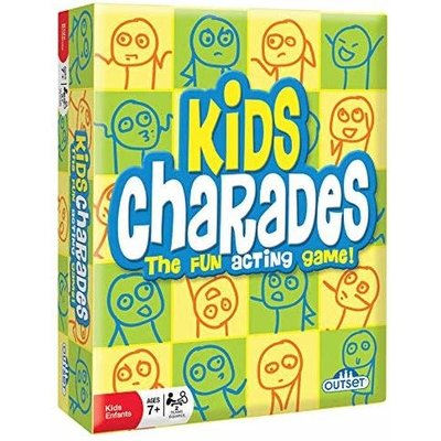 Outset Media Outset Game Kids Charades New