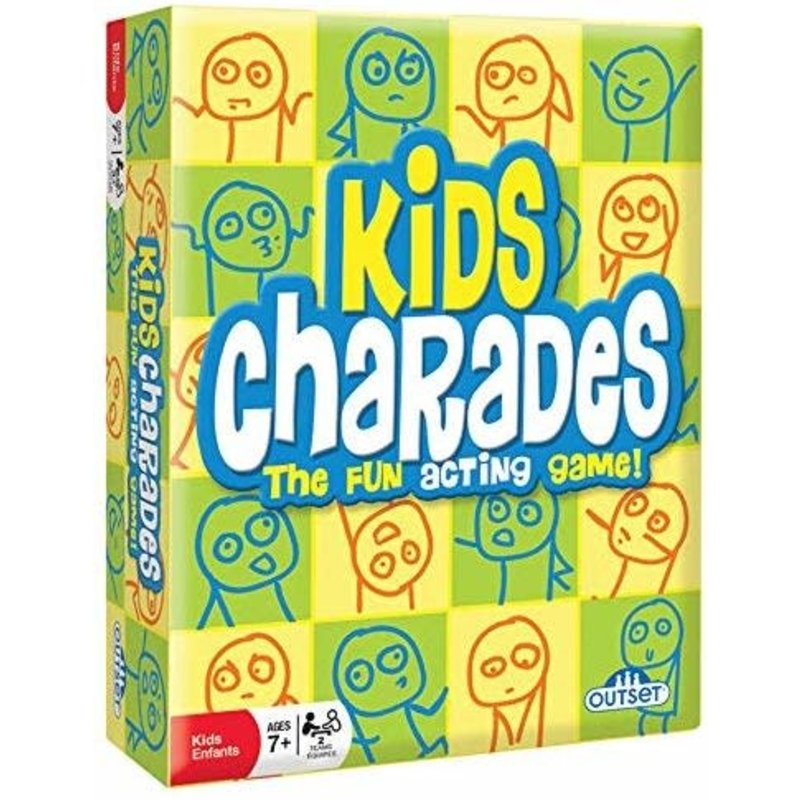 Outset Media Outset Game Kids Charades