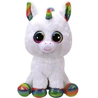 Ty Ty Beanie Boo Large Pixy Unicorn White
