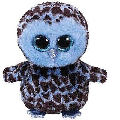 Ty Ty Beanie Boo Regular Yago Owl Blue