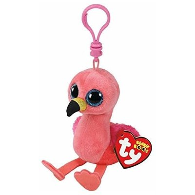 Ty Ty Beanie Boo Clip Gilda Pink Flamingo