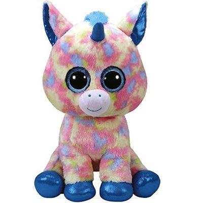 Ty Ty Beanie Boo Large Blitz Unicorn Pastel