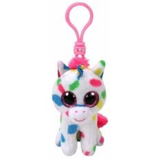 Ty Beanie Boo Clip Harmonie Unicorn Spots